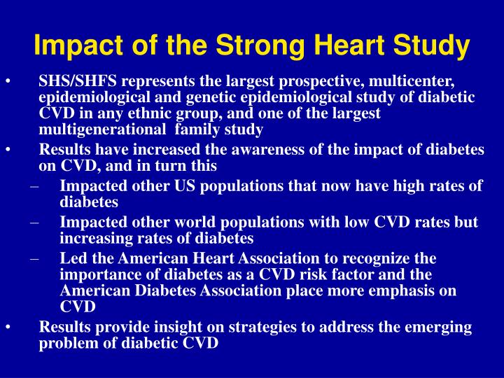 Impact of the Strong Heart Study