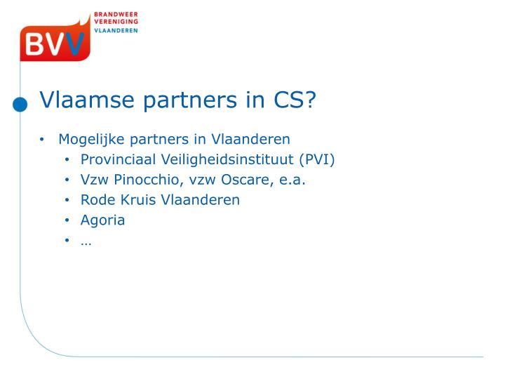 Vlaamse partners in CS?
