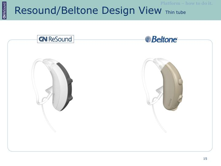 Resound/Beltone Design View