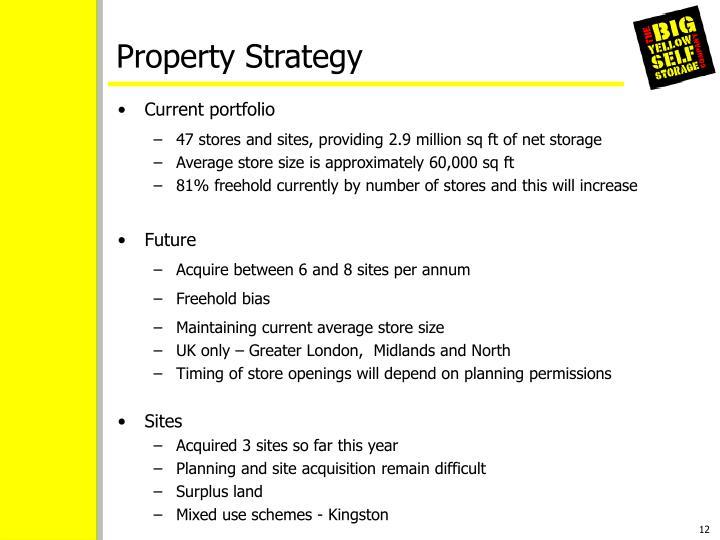 Property Strategy