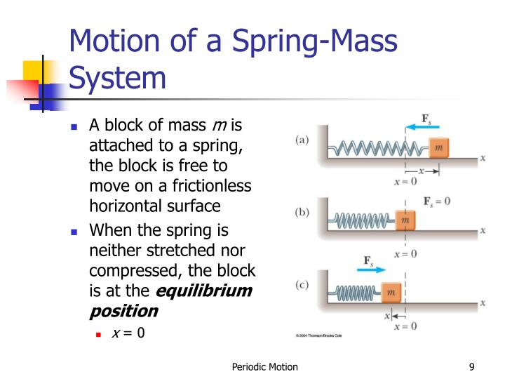 Motion of a Spring-Mass System