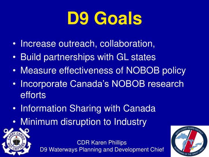 Increase outreach, collaboration,