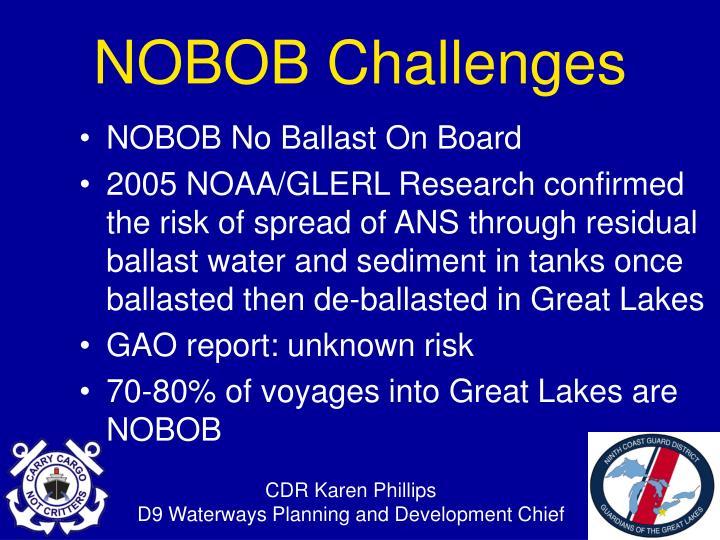 NOBOB No Ballast On Board