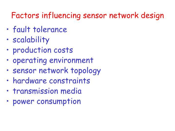 Factors in