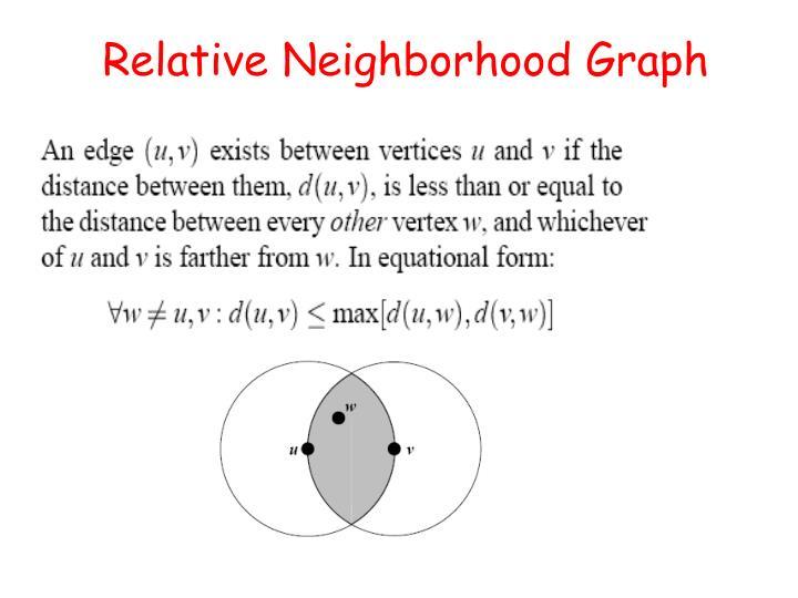 Relative Neighborhood Graph