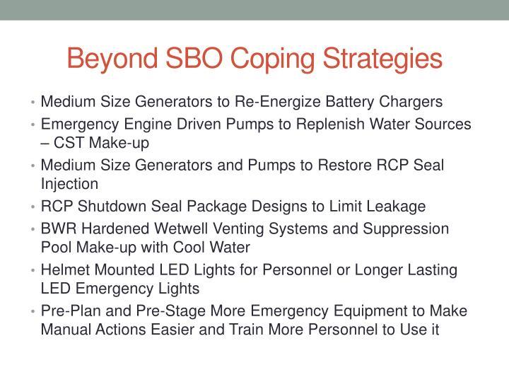 Beyond SBO Coping Strategies