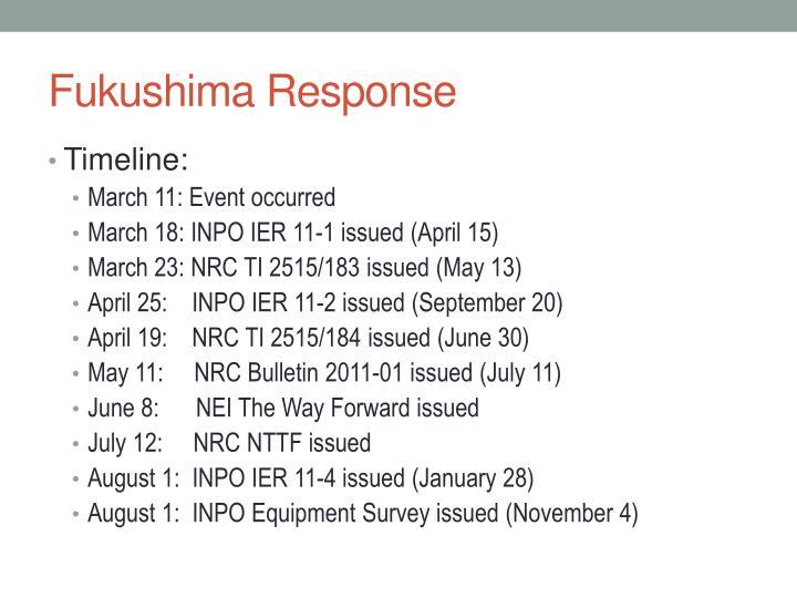 Fukushima response1