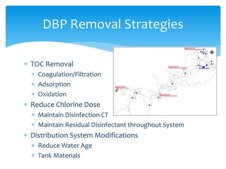 DBP Removal Strategies