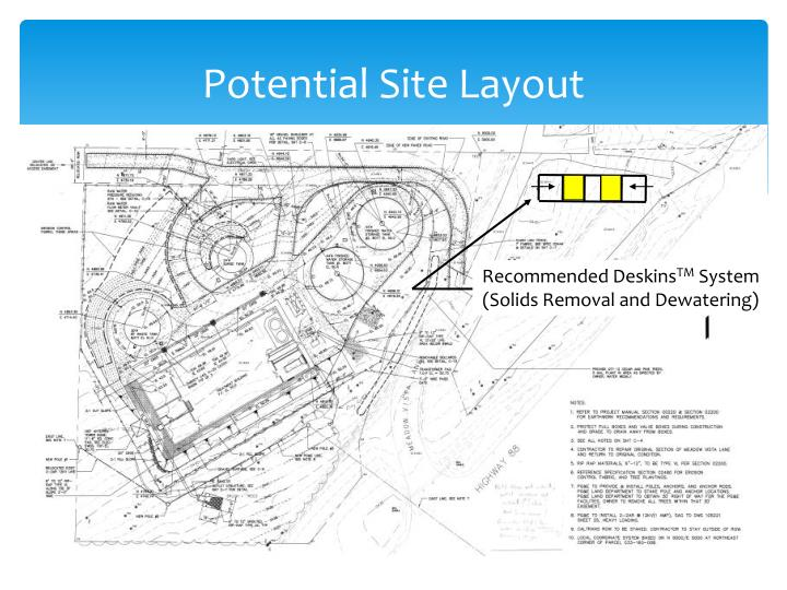 Potential Site Layout