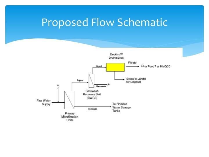 Proposed Flow Schematic