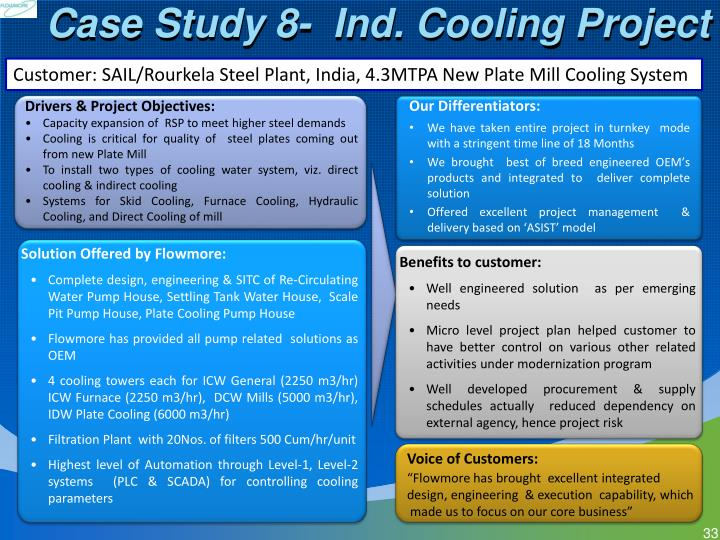Case Study 8-  Ind. Cooling Project