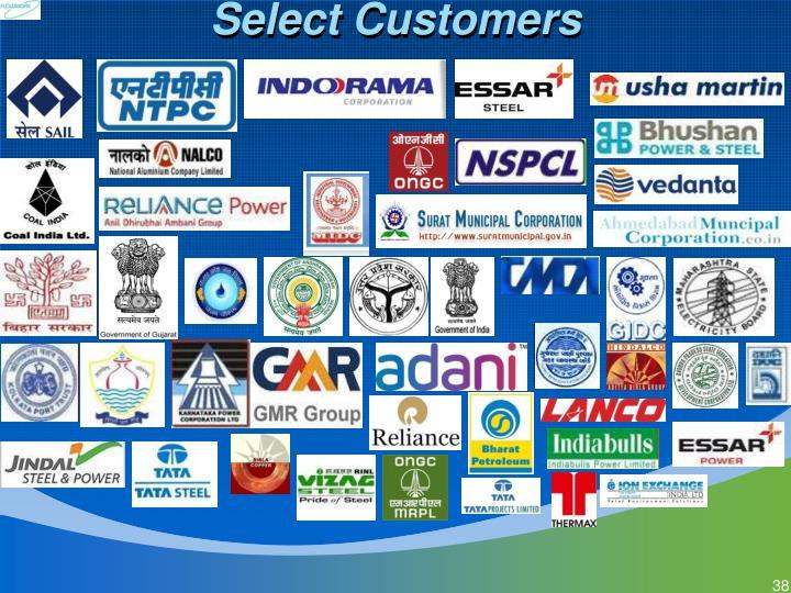 Select Customers