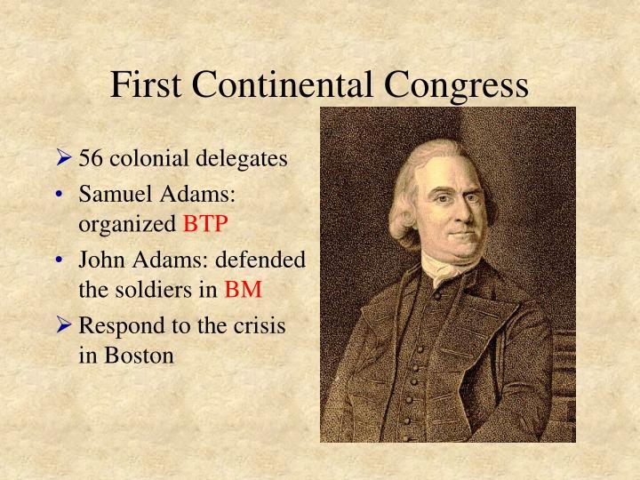 First continental congress1