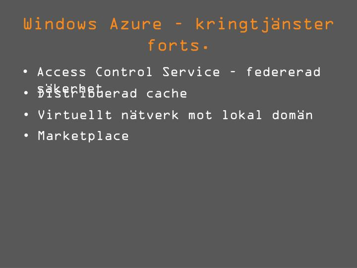 Windows Azure –