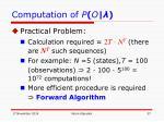 computation of p o4