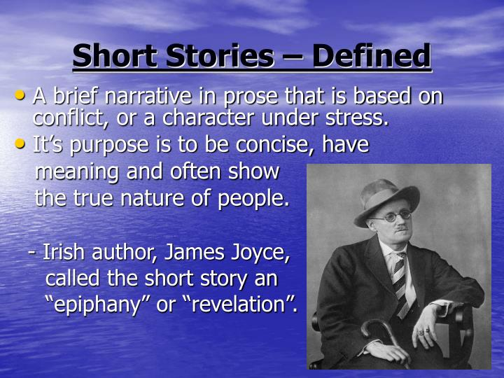 Short Stories – Defined