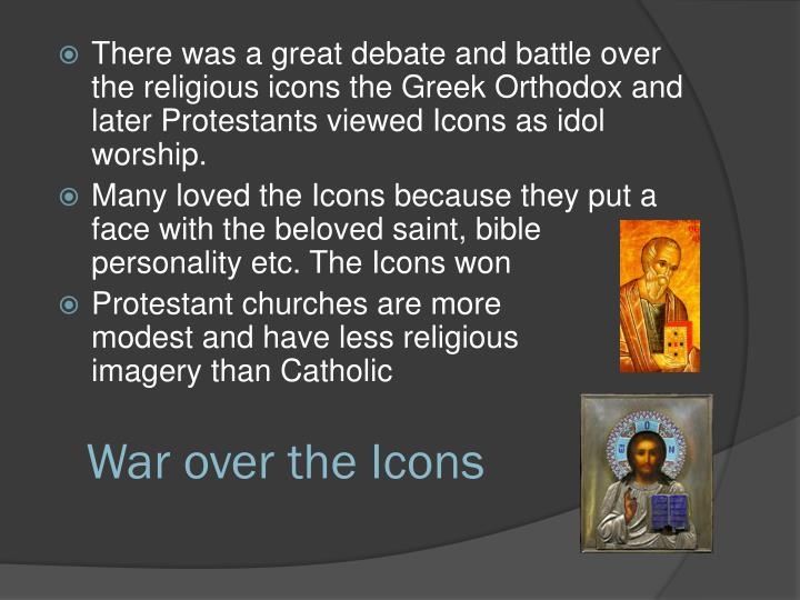 War over the Icons