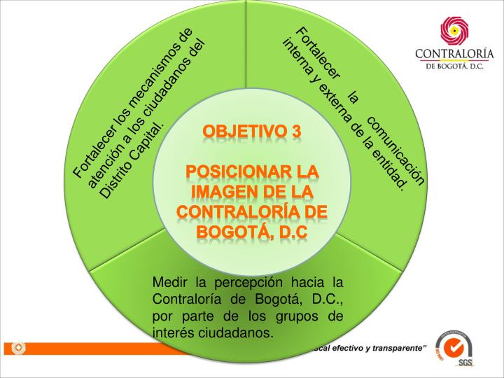 Fortalecer los mecanismos de atención a los ciudadanos del Distrito Capital.