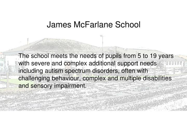 James mcfarlane school