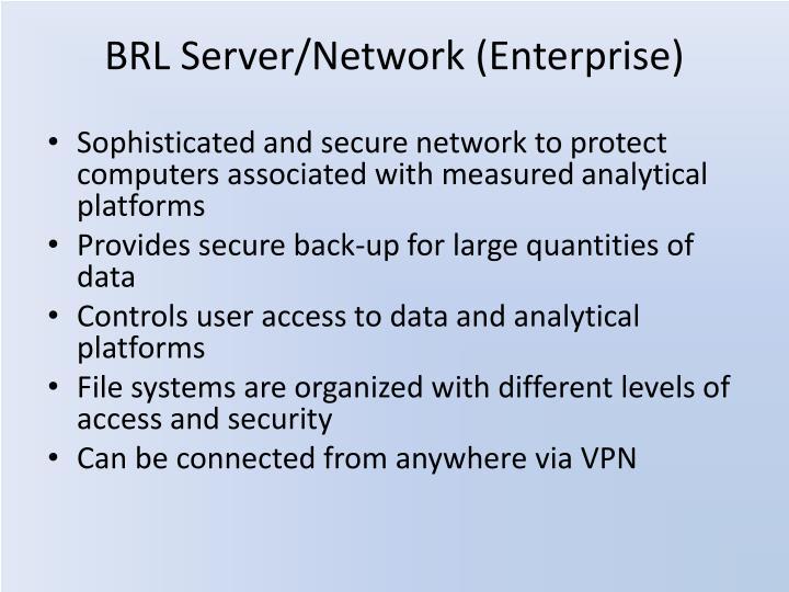 BRL Server/Network (Enterprise)