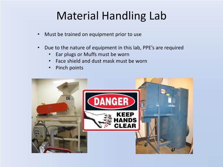 Material Handling Lab