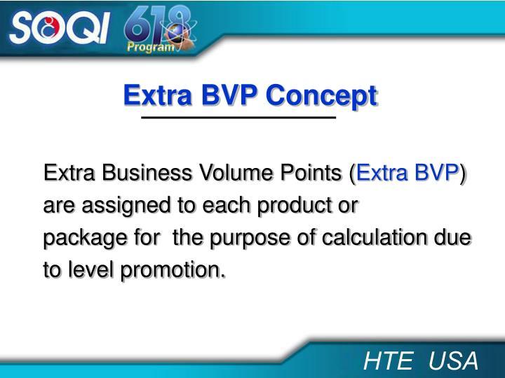 Extra BVP Concept