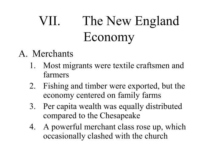VII.The New England Economy