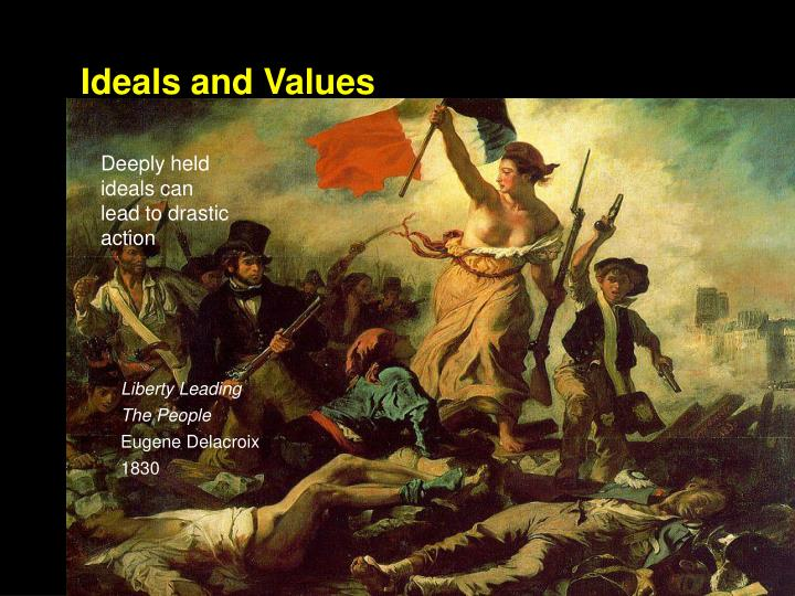 Ideals and Values