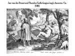 jan van der straet and theodor galle engraving america ca 1580