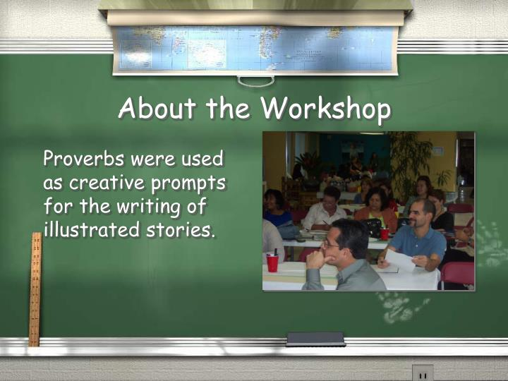 About the workshop