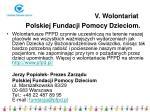 v wolontariat polskiej fundacji pomocy dzieciom