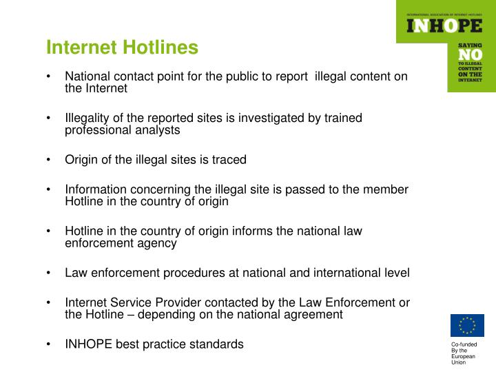 Internet Hotlines