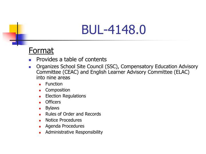 Bul 4148 0