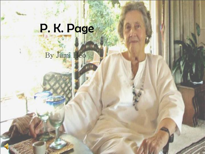 P k page