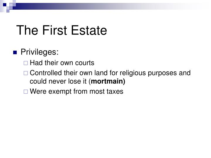 The First Estate