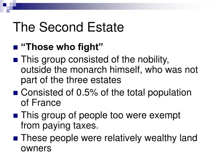 The Second Estate