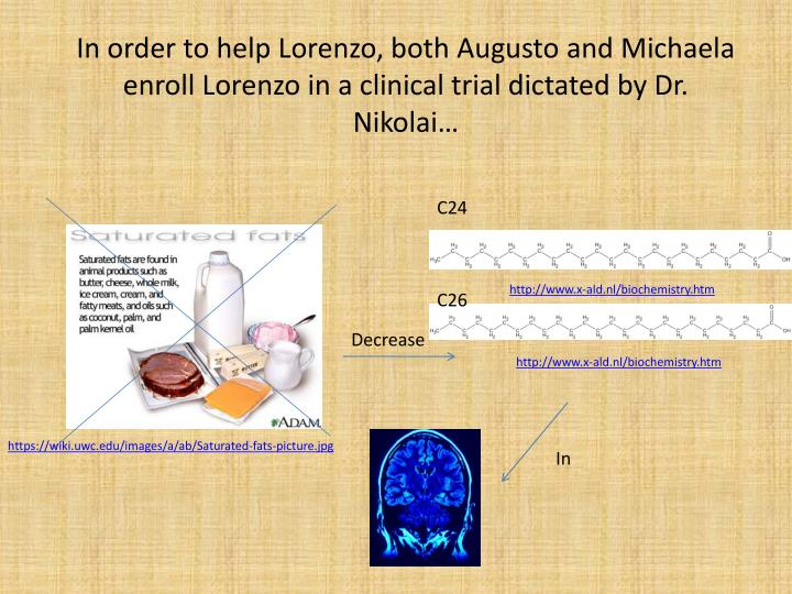 In order to help Lorenzo, both Augusto and Michaela enroll Lorenzo in a clinical trial dictated by Dr. Nikolai…