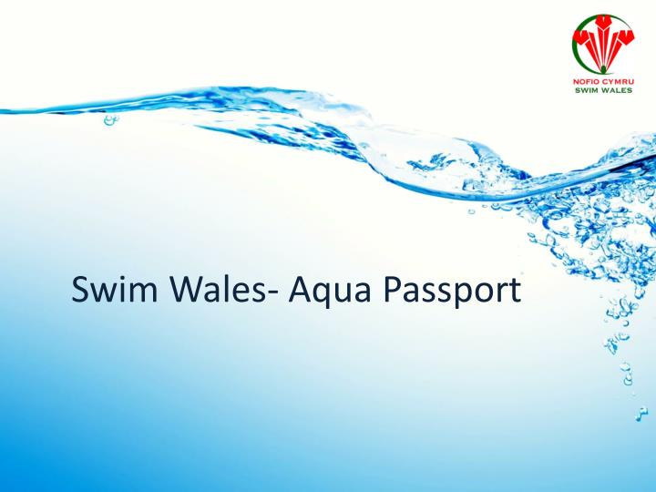swim wales aqua passport n.