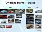 on road market status