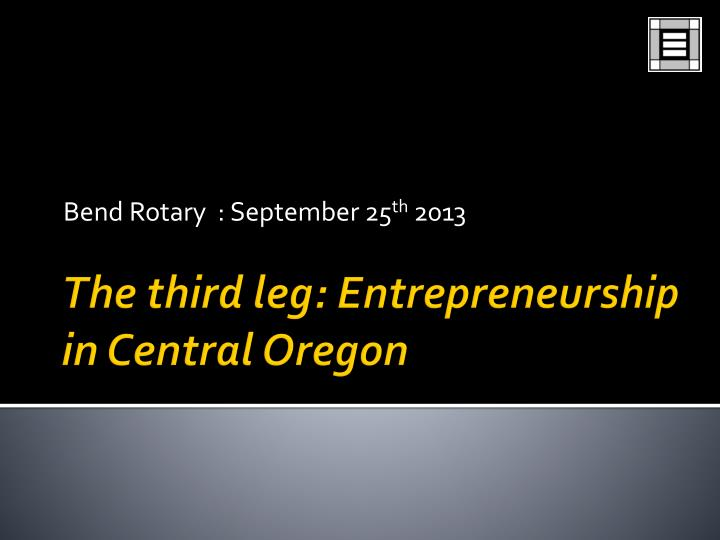 Bend rotary september 25 th 2013