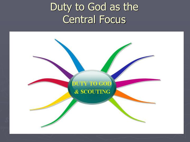 Duty to God as the