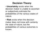 decision theory1