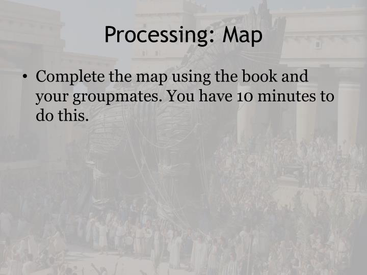 Processing: Map