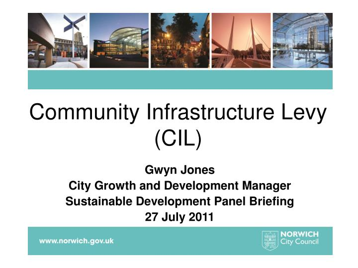 Community infrastructure levy cil
