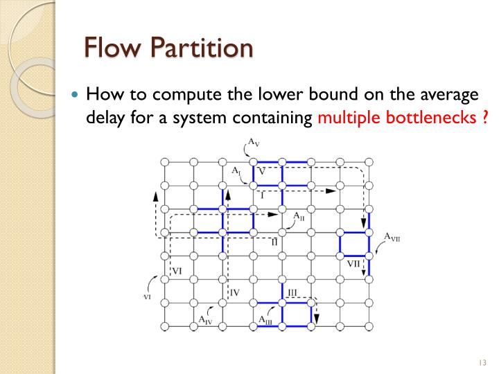 Flow Partition