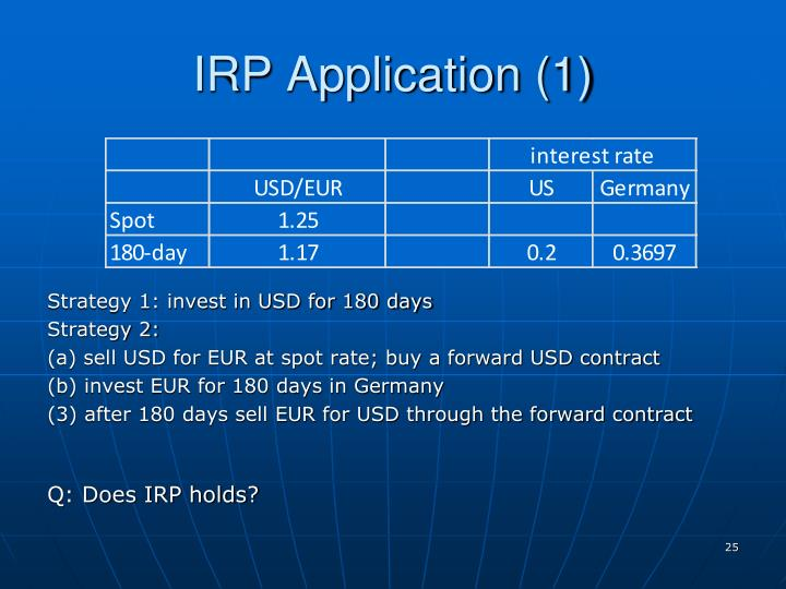 IRP Application (1)