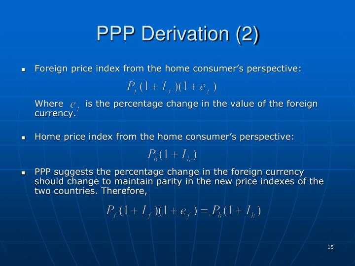 PPP Derivation (2)