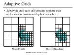 adaptive grids