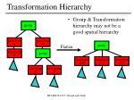 transformation hierarchy