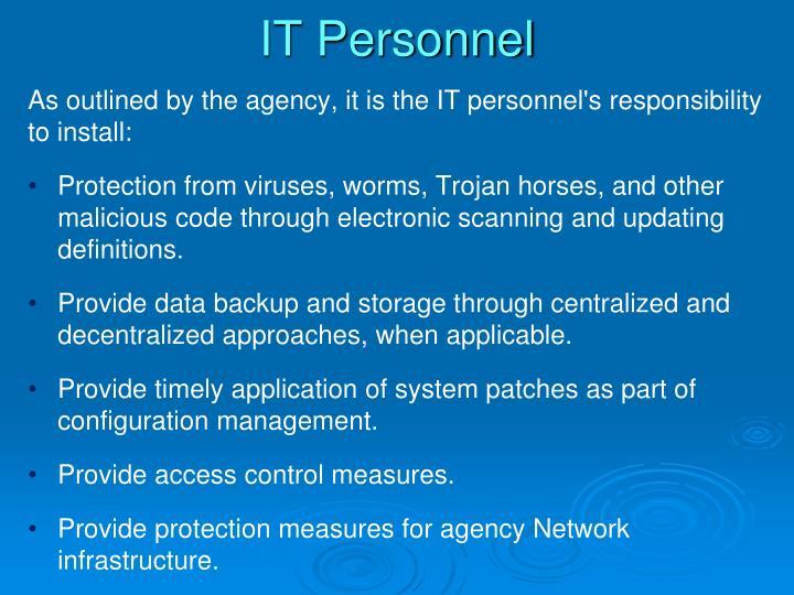 IT Personnel